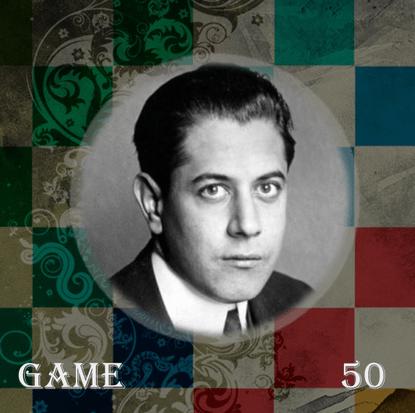 شروع بازی گامبی گامبی بوداپست کاپابلانکا (سفید) – تارتاکور (سیاه) سال 1928